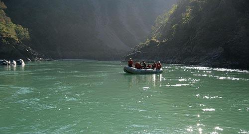 Ganges River Rafting 3