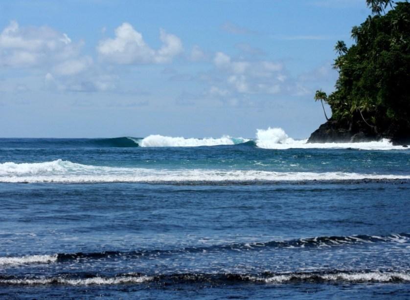 samoa islands surfing