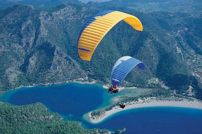 paragliding in rio de janeiro 2