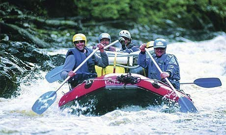 paraguay white water rafting 2