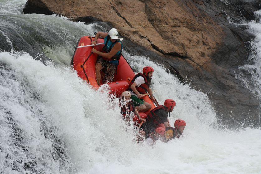 paraguay white water rafting