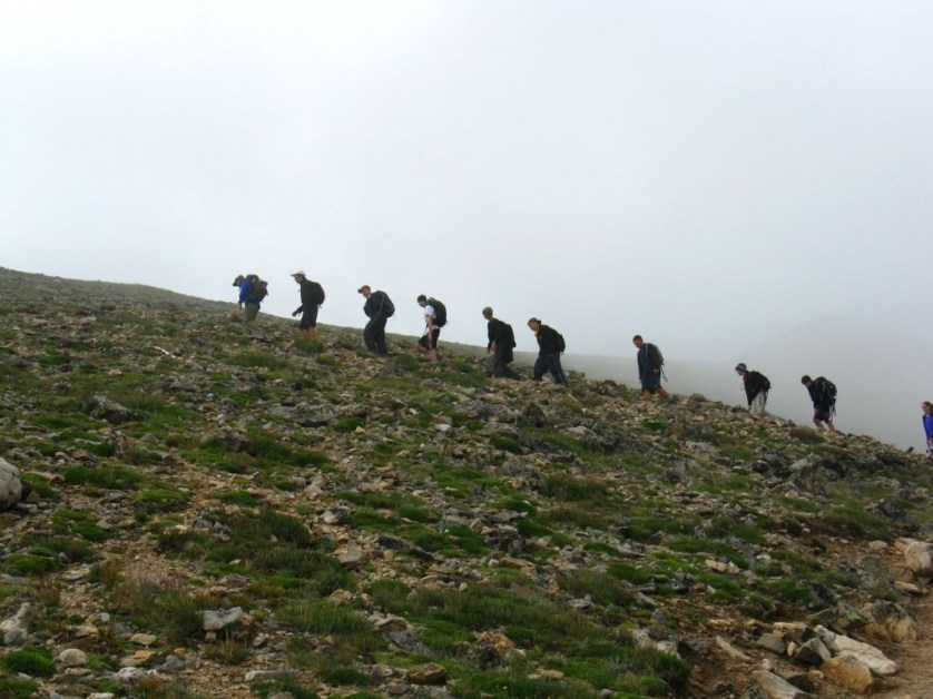 mount elbert hiking