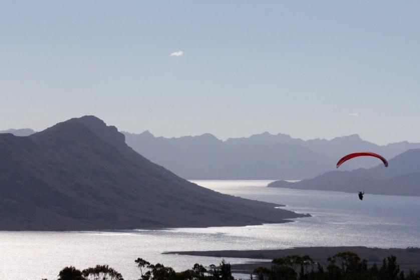 paragliding tasmania