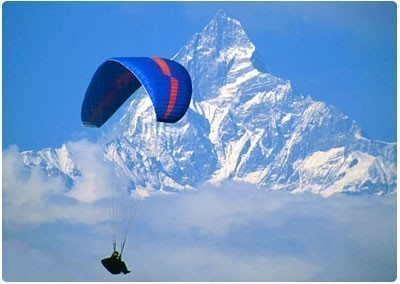 Paragliding In Pokhara 2