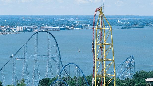 Top Thrill Dragster – Cedar Point – Sandusky, Ohio