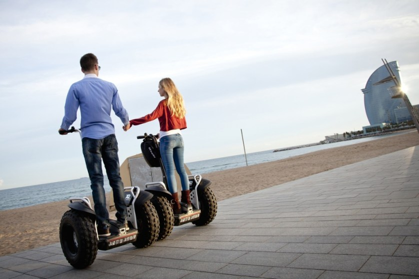 Barcelona Segway Tour shore