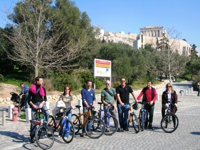 City Highlights Athens Biking Tour