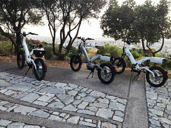 Electric Biking Tour In Athens