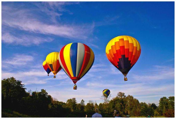 Lake Champlain balloon ride