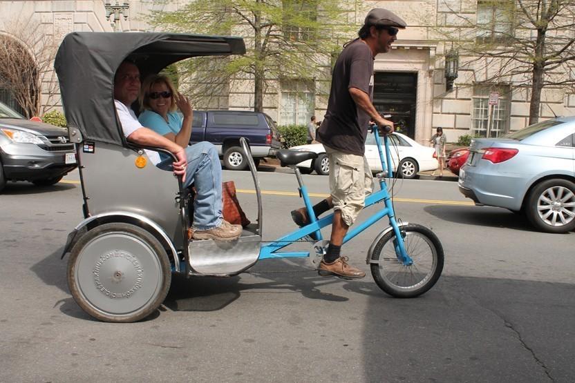 Wine Tasting Washington DC Tour By Pedicab