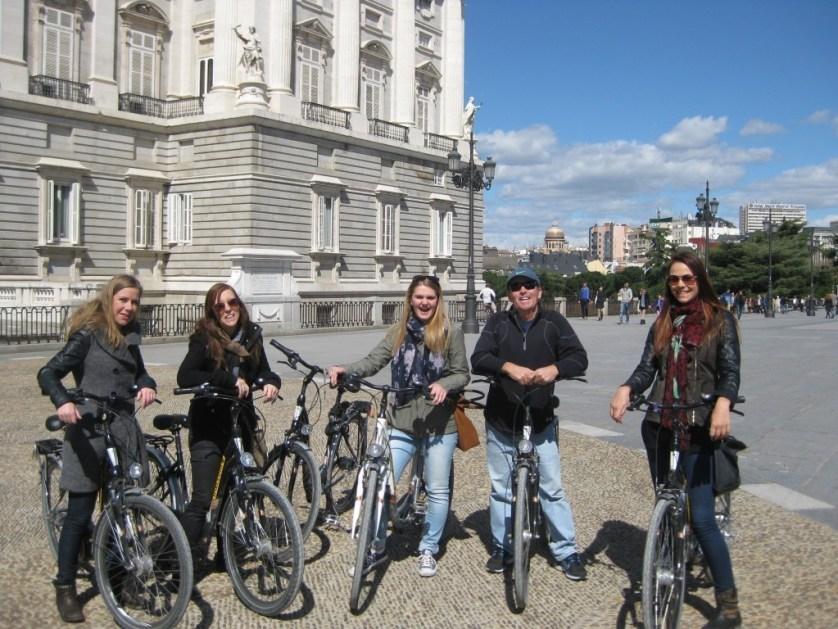 biking tours madrid