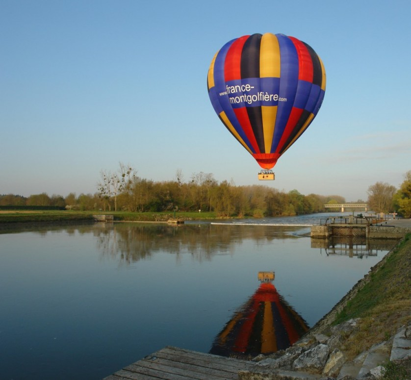 loire hot air balloon rides