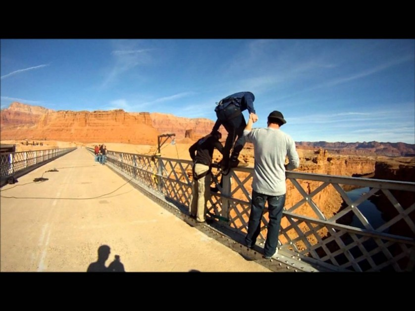 Navajo Bridges Bungee Jumping