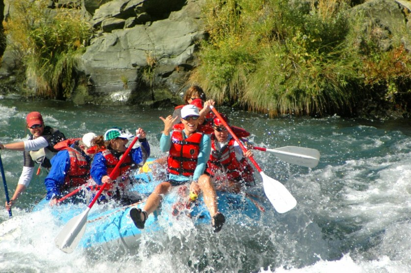 Deschutes River, Oregon rafting
