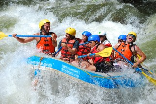 Whitewater Rafting In Ecuador