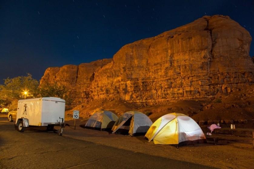 yellowstone national park camp