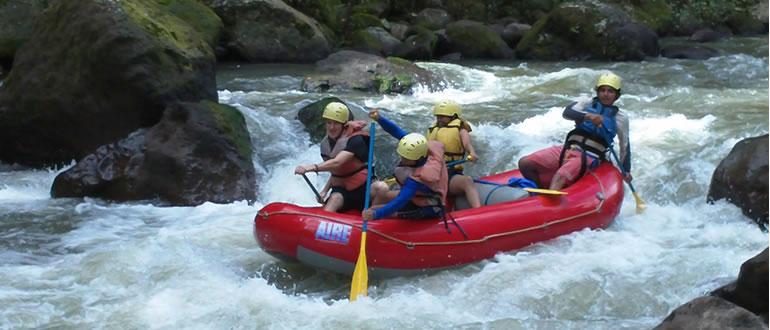 Rafting In Nicaragua