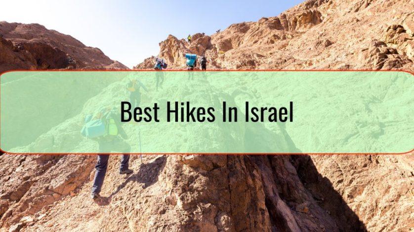 Best Hikes In Israel