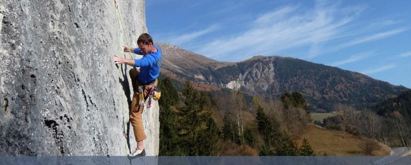 rock climbing mountain italy