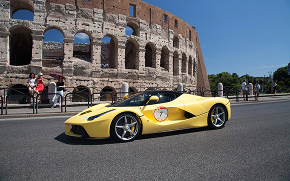 Drive A Ferrari Sports Car On The Streets Of Rome
