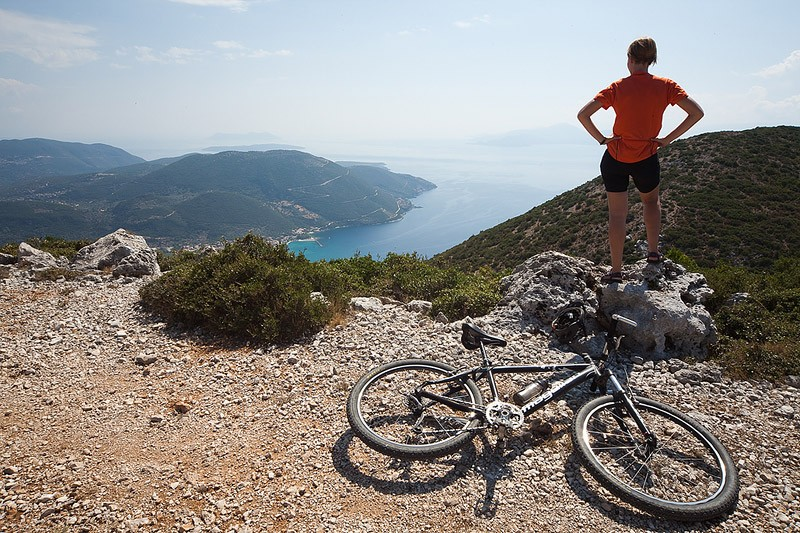 Mountain Biking lefkada