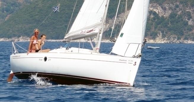 Sailing In Lefkada