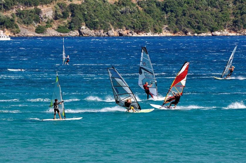 Windsurfing In Lefkada