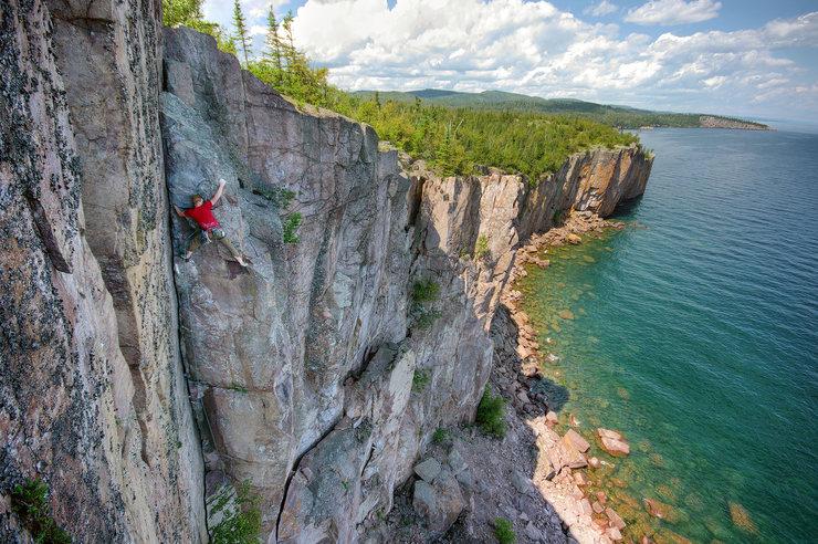 Rock Climbing In Minnesota
