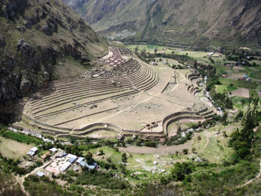 inca trails ruins