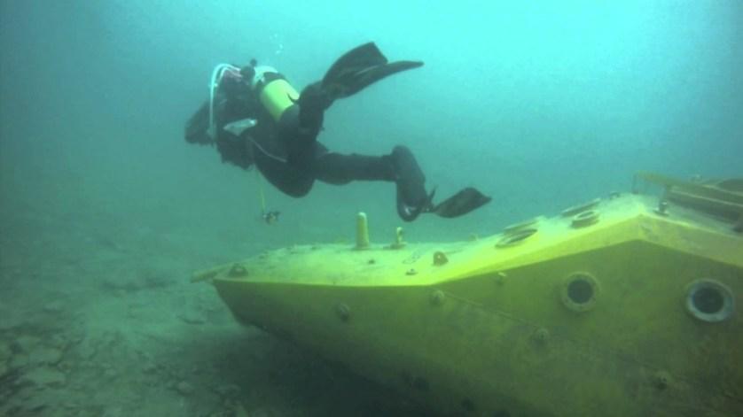 quarry diving england