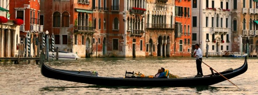 Gondola Tours In Venice