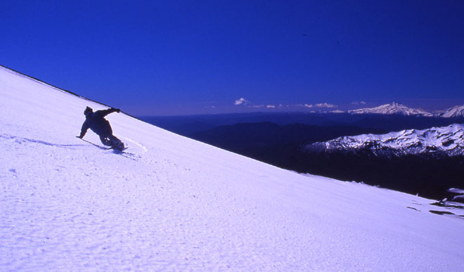 Skiing And Snowboarding In Chile