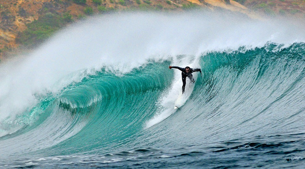 Surfing In Chile