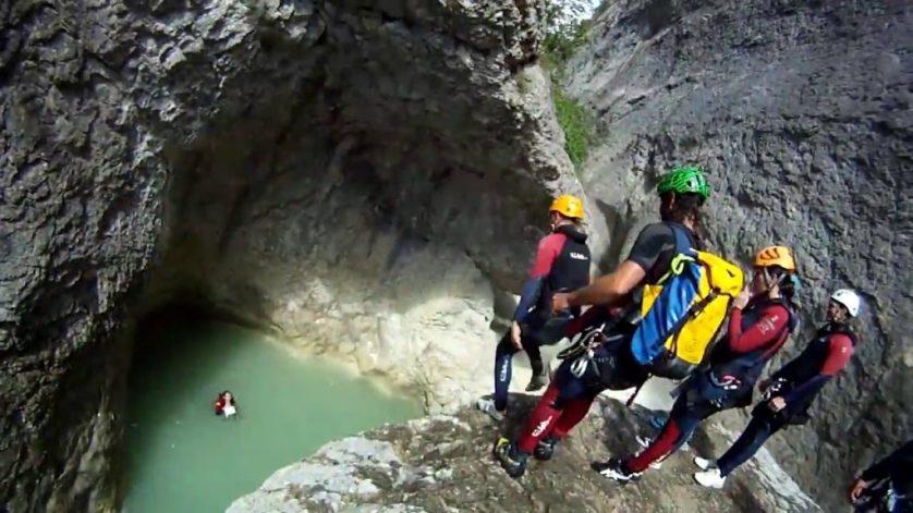 Canyoning At Verdon Gorge