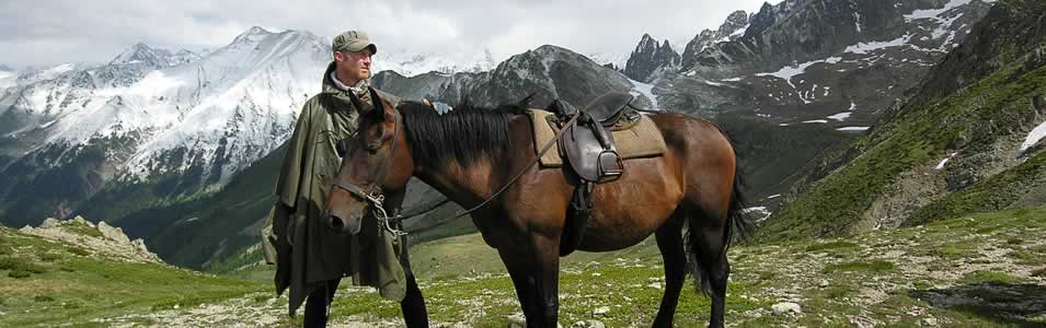 Horseback Riding In French Riviera Mountains