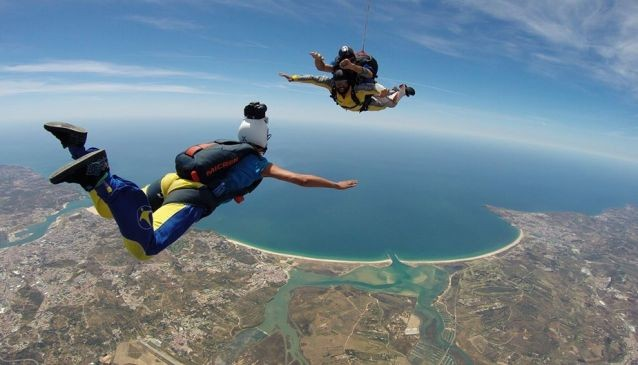 Skydiving In Algarve