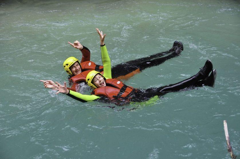 Water Rambling At Verdon Gorge