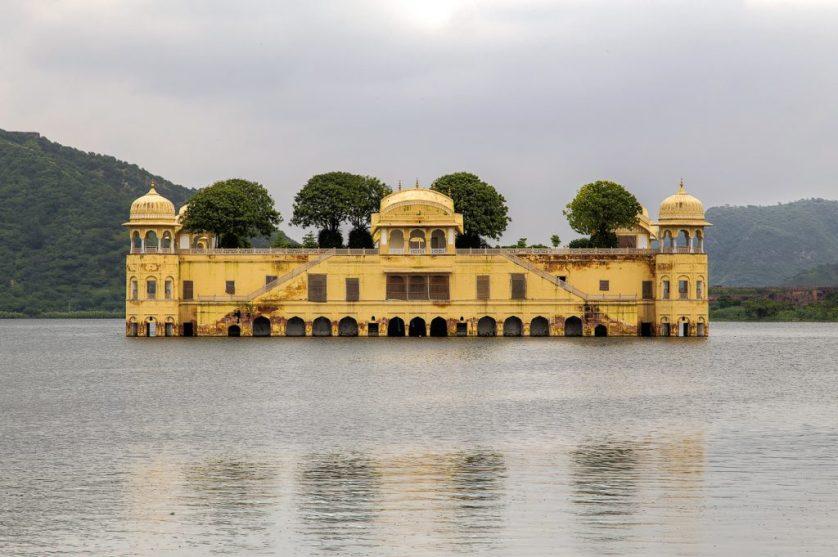 Man Sagar Lake, India