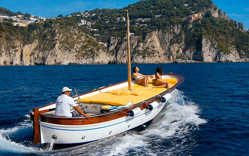 Boating Tours Capri