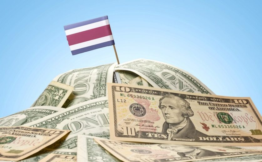 costa rica and dollars
