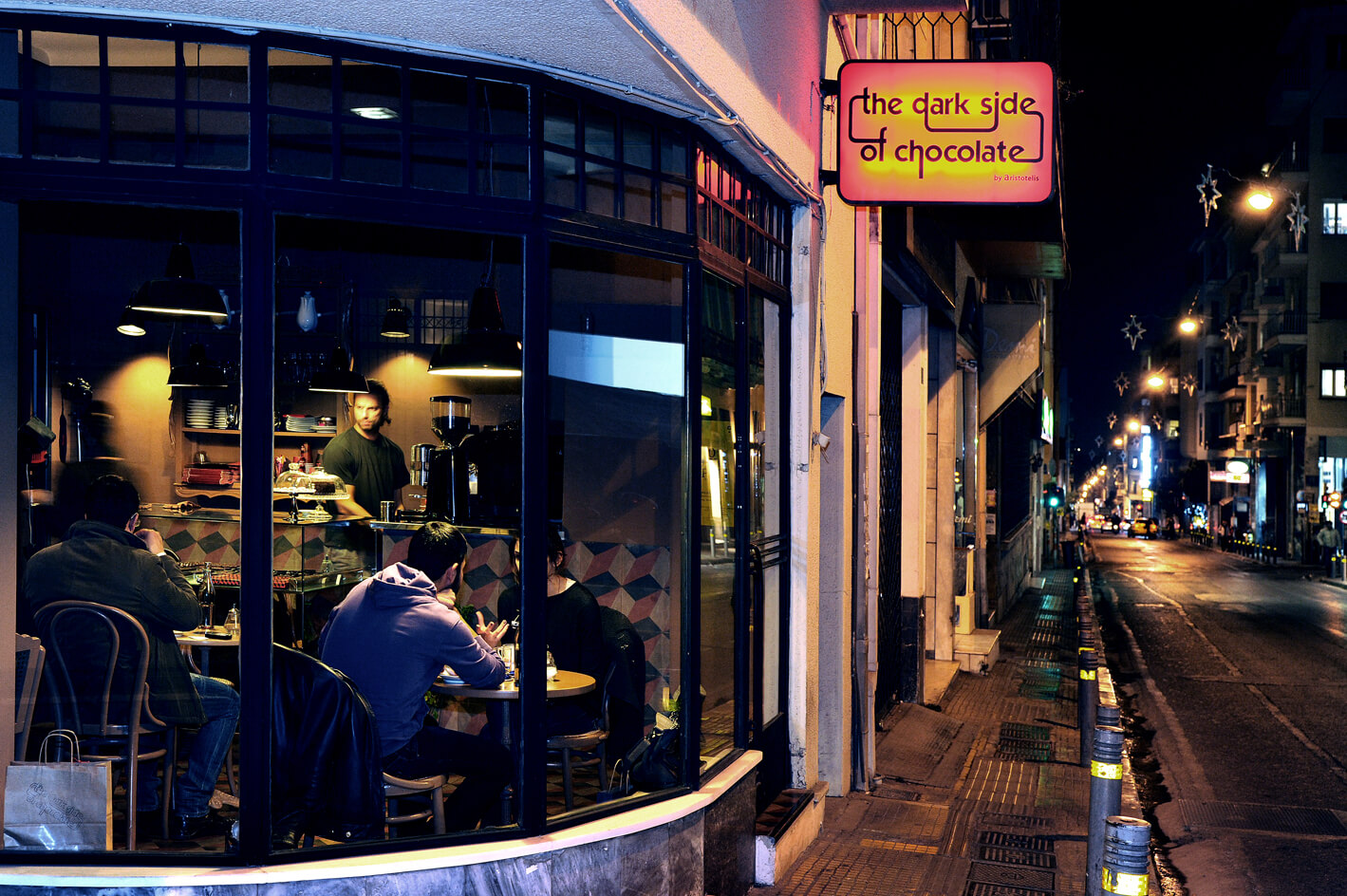 The Dark Side of Chocolate  Cafes in Athens  Travel to Athens
