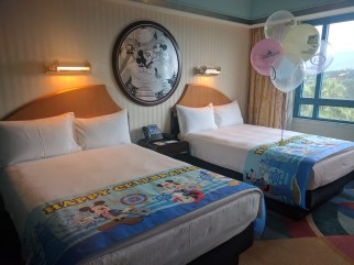 Deluxe Room with 2 Double Beds - Disney's Hollywood Hotel Hong Kong Disneyland