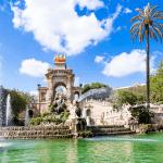 Fountain in the Parc de la Ciutadella