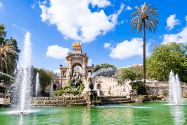 Fountain in the Parc de la Ciutadella
