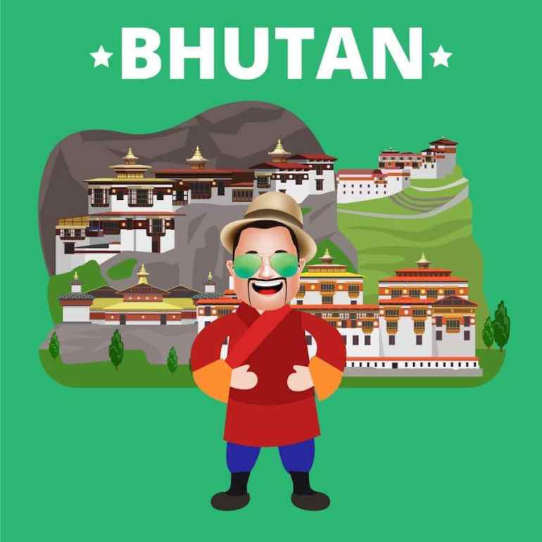 No Extra Free Entry for Indians to Bhutan – MacroTraveller