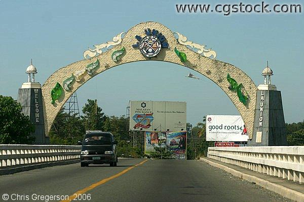 The Welcome Arch of La Union, Philippines