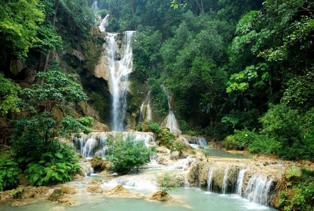 Dziancoudre Waterfall