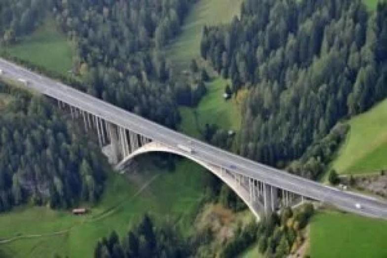 The Europabrücke near Innsbruck.