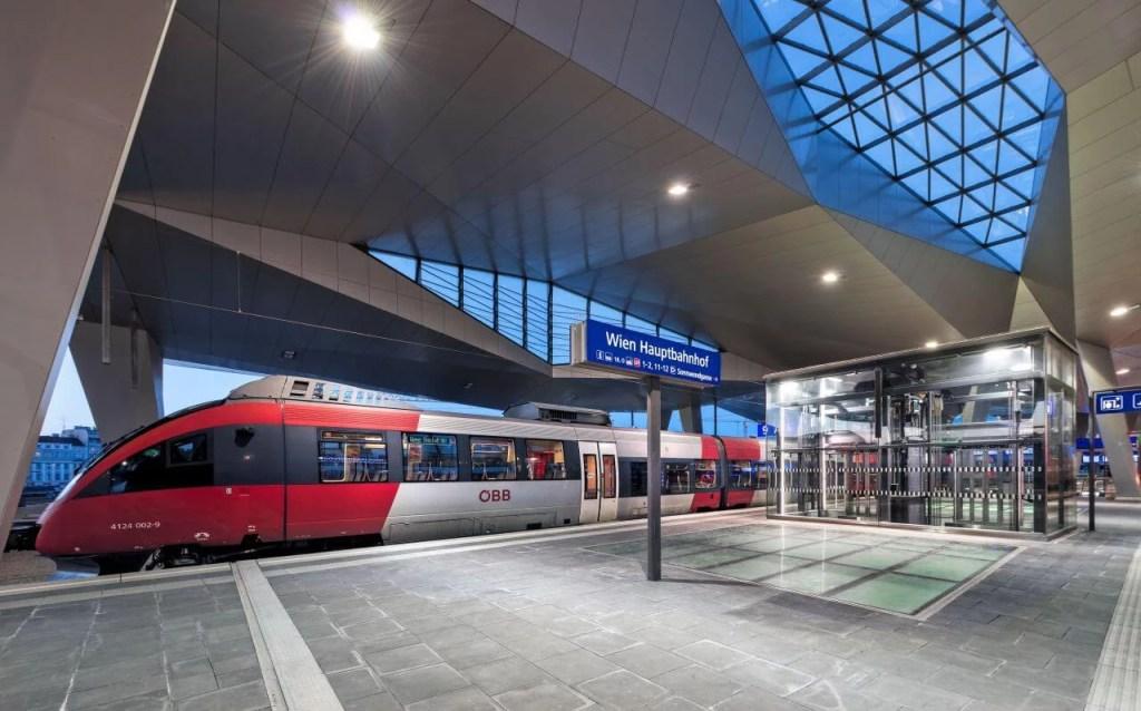 Vienna main train station. © ÖBB Roman Boensch