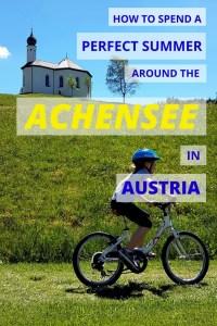 Lake Achensee summer holiday